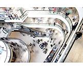 Einkauf & Shopping, Menschenmenge, Konsum, Wirtschaft, Kaufkraft, Einkaufszentrum