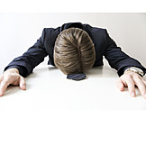 Businessman, Exhaustion, Stress & Struggle, Depression
