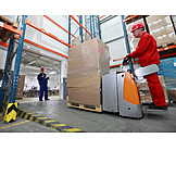 Job & profession, Warehouse, Forklift driver