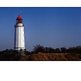 Hiddensee, Lighthouse dornbusch