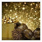 Christmas, Christmas ball, Christmas present