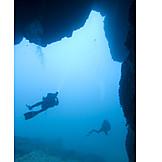 Coral reef, Diver, Diving, Explore