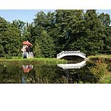 Bridge, Pond, Vihula, Palmse vihula