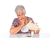 Senior, Doubts & Worry, Save, Retirement