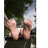 Relaxation & recreation, Barefoot, Feet