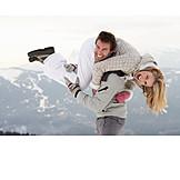 Fun & Happiness, Winter, Love Couple