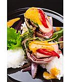 European Cuisine, Delicacy, Dining, Salmon