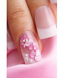 Manicure, French manicure, Nail polish