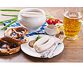 Beer, Pretzel, Weisswurst