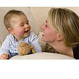 Baby, Mutter, Pflege & Fürsorge