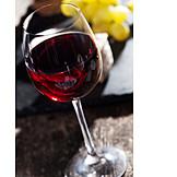 Wine glass, Red wine