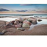 Coast, Stones, Baltic sea