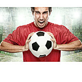 Young man, Soccer, Soccer player