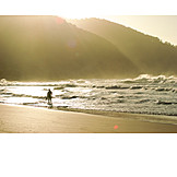 Beach, Surfing