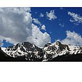 Snowy, Rocky mountains