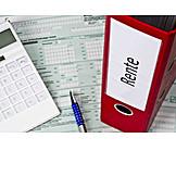 Pension, Income, Tax Form