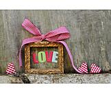 Valentine, Love, Picture Frame
