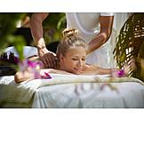 Wellness & Relax, Rückenmassage, Wohlbefinden