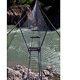 Gefahr & Risiko, Action & Abenteuer, Hängebrücke