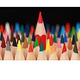 Individuality & Uniqueness, Pen, Crayon