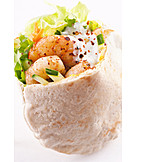 Fast food, Wrap