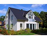 Wohnhaus, Immobilie, Einfamilienhaus