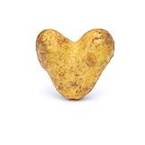 Healthy diet, Heart shaped, Potato