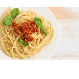 Pasta dish, Pasta, Spaghetti bolognese