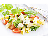 Buffalo mozzarella, Noodle salad