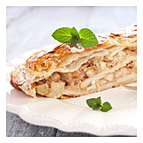 Dessert, Apple strudel
