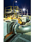 Industry, Industrial Plant, Sewage Treatment Plant