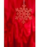 Christmas Tree Decorations, Ice Crystal, Snowflake