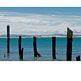Sea, Weathered, Groyne