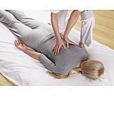 Wirbelsäule, Therapie, Krankengymnastik, Physiotherapie