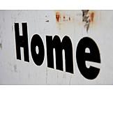 Wall, Word, Home