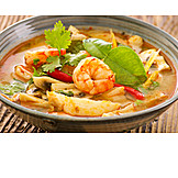 Asian Cuisine, Soup, Tom Yam Gung