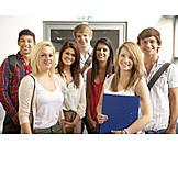 School children, Graduation