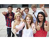 Bildung, Schüler, Bestanden, Abitur, Abiturient