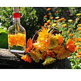 Calendula oil, Blossom oil