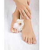 Beauty & Cosmetics, Barefoot, Foot, Pedicure