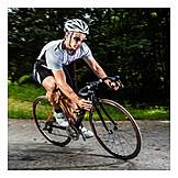 Sports & Fitness, Cyclists, Triathlete