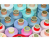Yarn, Sewing thread, Thread spool
