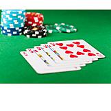 Card game, Royal straight flush