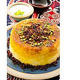 Oriental Cuisine, Rice Dish, Albaloo Polow