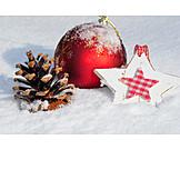 Christmas ball, Christmas decoration, Winterly
