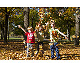 Autumn, Autumn Leaves, Autumn, Children