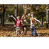 Autumn, Autumn Leaves, Autumn, Children