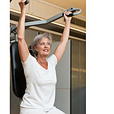 Pensioner, Senior, Weightlifting, Physiotherapy, Physical Therapy