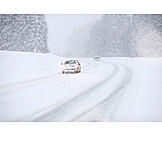 Winter, Snow Chaos, Road Conditions