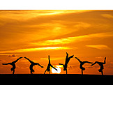 Lebensfreude, Turnen, Handstand, Kopfstand